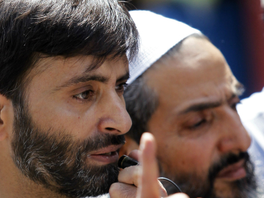 File image of JKLF chief Yasin Malik. Reuters