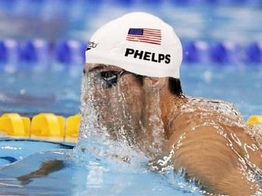 File picture of Michael Phelps. Reuters