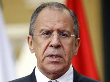 Russian Foreign Minister Sergey Lavrov. AFP