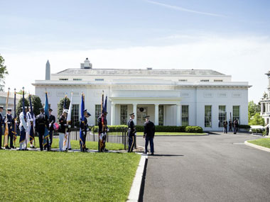 West Wing of the White House. AFP.