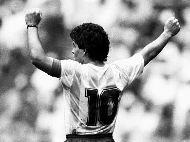 Maradona in his prime was unstoppable. Reuters
