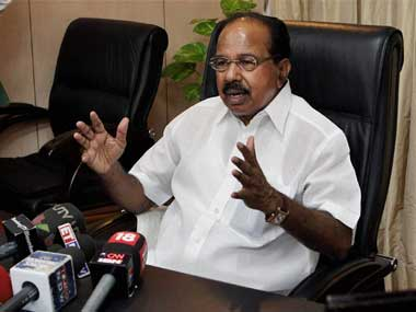 M Veerappa Moily said the govt was raising people's aspirations. PTI