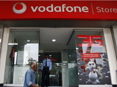 A Vodafone store in India is seen in this file photo. Reuters