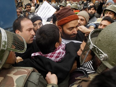 File photo of JKLF leader Yasin Malik. Reuters