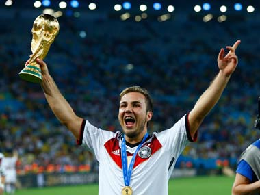 Mario Goetze scored the winning goal against Argentina for Germany in finals of 2014 World Cup. Reuters