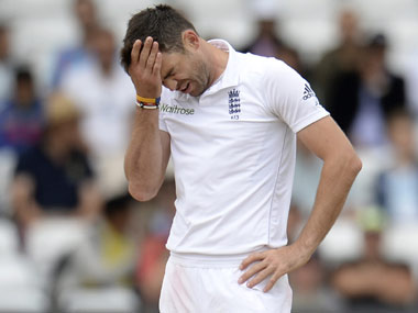 File Photo of James Anderson. Reuters