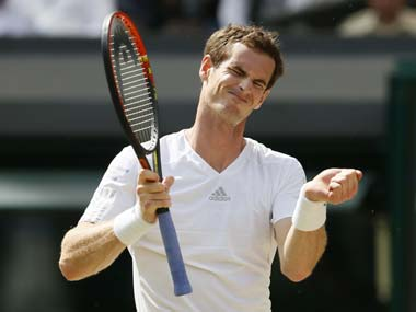 File image of Andy Murray. Reuters