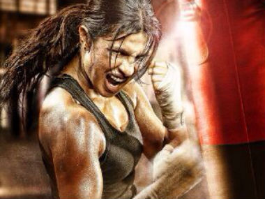 Priyanka Chopra as Mary Kom in the poster.