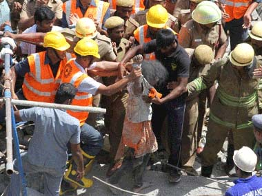 The building collapse in Chennai on 28 June killed 61 people. Firstpost
