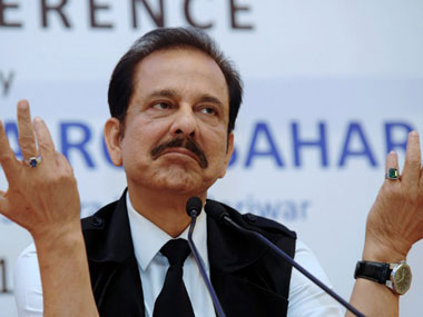 Sahara Group chairman Subrata Roy. AFP