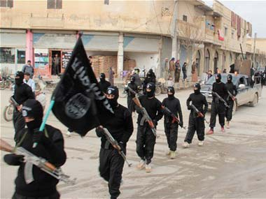 A file photo of ISIS fighters in Iraq. Reuters
