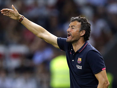 File picture of Luis Enrique. Reuters