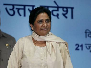 Mayawati was unanimously elected BSP president. PTI