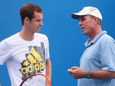 File photo of Andy Murray and Ivan Lendl. Getty Images