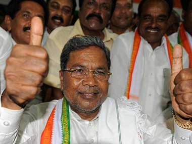Karnataka CM Siddaramaiah. PTI