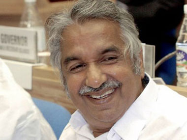 Kerala Chief Minister Oommen Chandy. File photo. AFP
