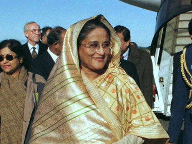 Sheikh Hasina. Agencies