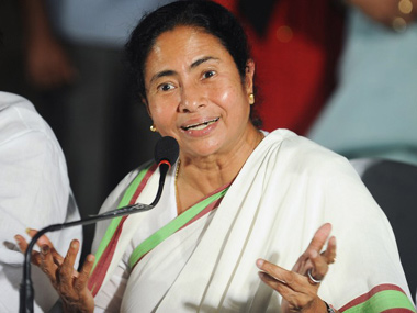File photo of Trinamool Congress chief Mamta Banerjee. AFP