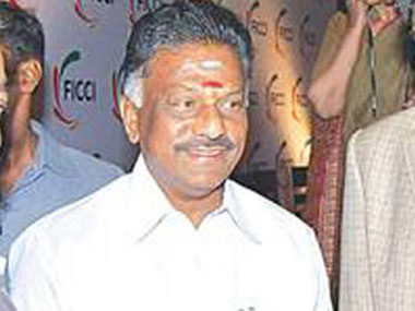 O Panneerselvam. Image courtesy CNN-News18