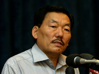 File image of Pawan Chamling. AFP.