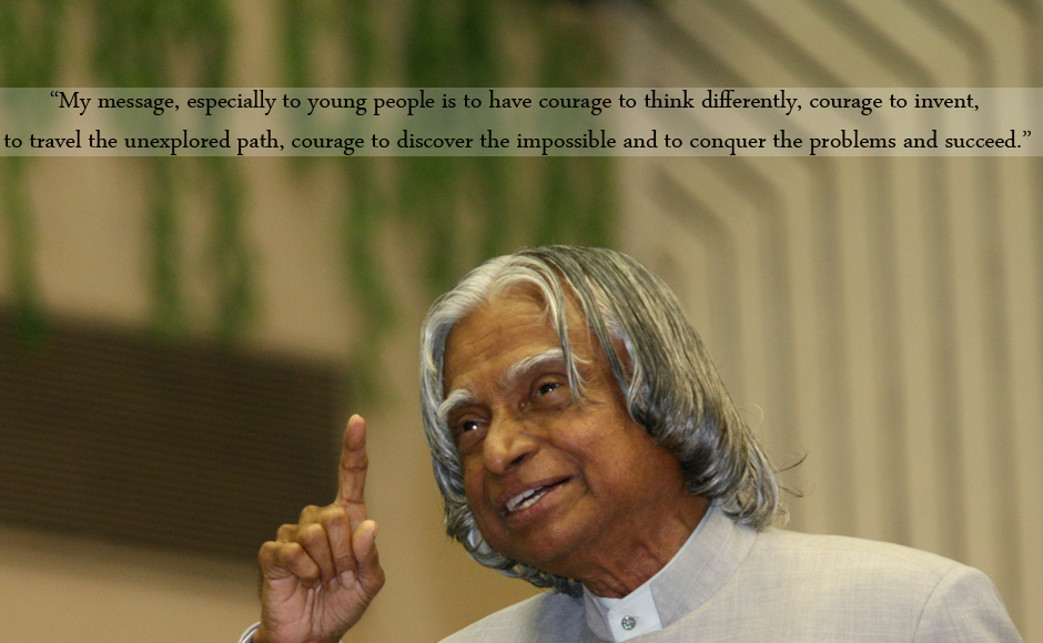 <p> Kalam is also known as the 'Missile Man' of India for his contribution to the development of the ballistic missile.</p>