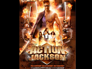 The poster of Action Jackson.