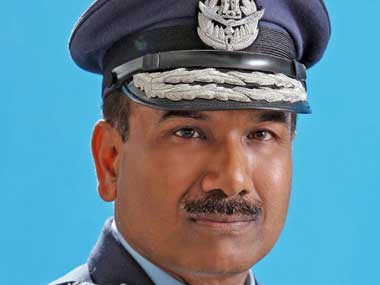 A file image of Air Chief Marshal Arup Raha. Image courtesy PIB