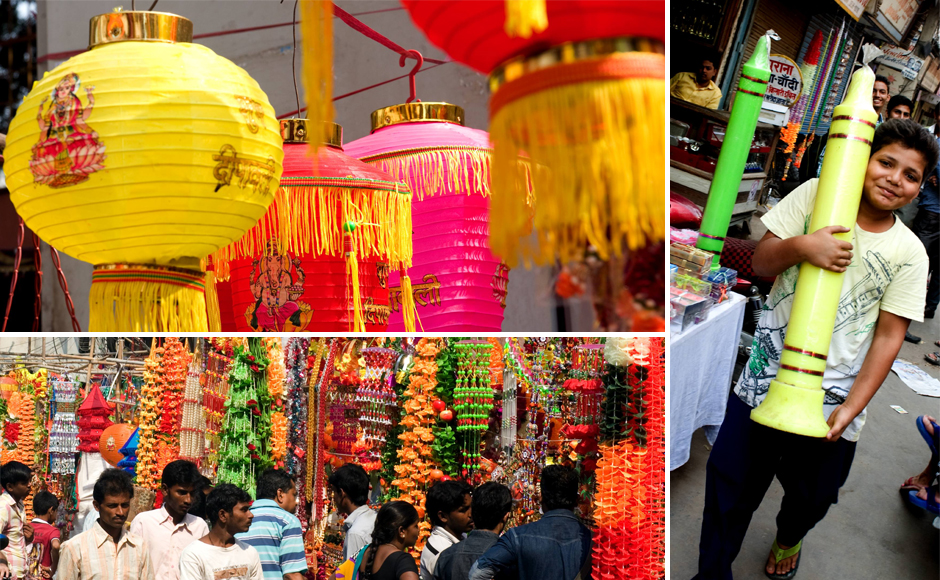 Diwali Pataka And Festival Celebration: Photos: Diyas To Crackers, Here's What Diwali Shoppers Are