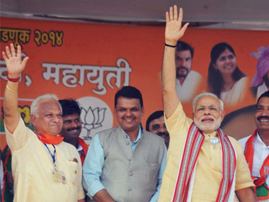 PM Modi in Sangli yesterday