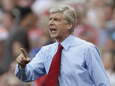 Arsenal manager Arsene Wenger. AP