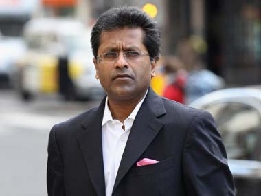 File picture of Lalit Modi. Getty