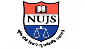 National University of Juridical Sciences logo. nujs.edu