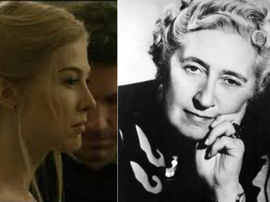 A picture of Amy Dunne from Gone Girl and Agatha Christie