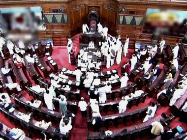 Opposition lashed out at the government over the black money issue in Rajya Sabha. PTI