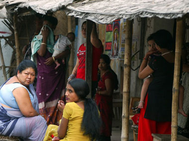 Sex workers in India. AFP.