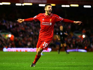 File picture of Adam Lallana. Getty
