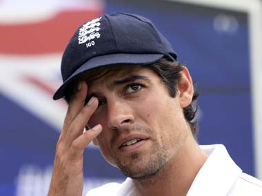 File photo of Alastair Cook. Reuters