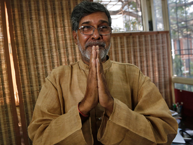 Nobel laureate Kailash Satyarthi said the Peshawar attack was one of the darkest days for humanity. Reuters