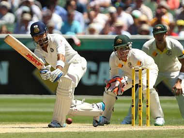 Virat Kohli bats during day three of the Third Test match between Australia and India at Melbourne Cricket Ground. Getty