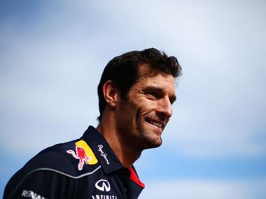 File picture of Mark Webber. Getty