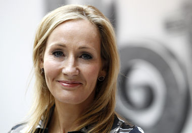 JK Rowling in this file photo. Courtesy: Reuters