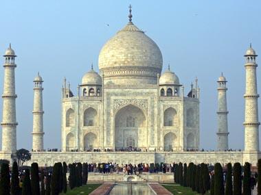 File image of the Taj Mahal. Reuters
