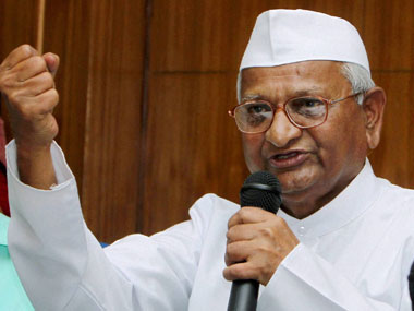 Anna Hazare to launch fresh protests against Modi govt on Lokpal issue - Firstpost