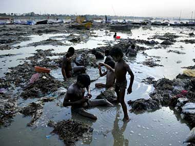 File image of the Ganges. AFP