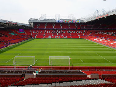 Manchester United's Old Trafford stadium had to be evacuated on Sunday after a bomb scare. GettyImages