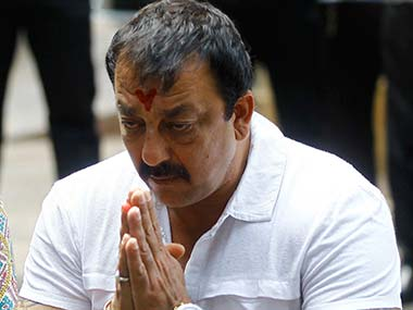 Bollywood actor and convict in the Mumbai blasts Sanjay Dutt. Reuters