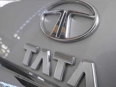 Tata Motors logo. Reuters
