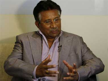 File image of Pervez Musharraf. PTI