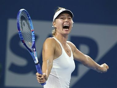 File picture of Maria Sharapova. AP