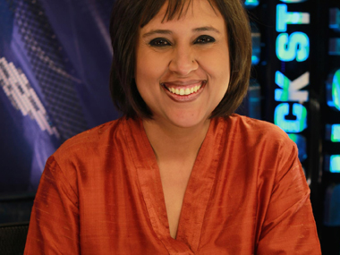Barkha Dutt. Image courtesy Dutt's Twitter handle